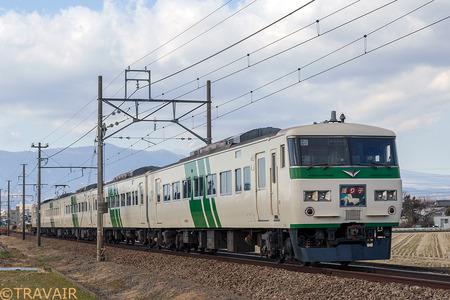 185系「踊り子」伊豆箱根鉄道線内