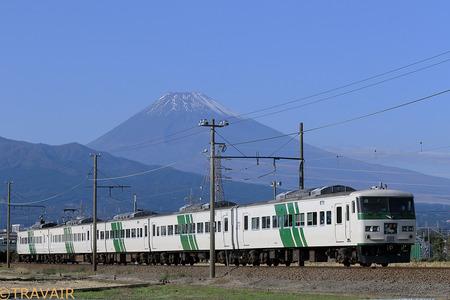 185系「踊り子」伊豆箱根鉄道