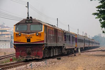 2列車転線作業