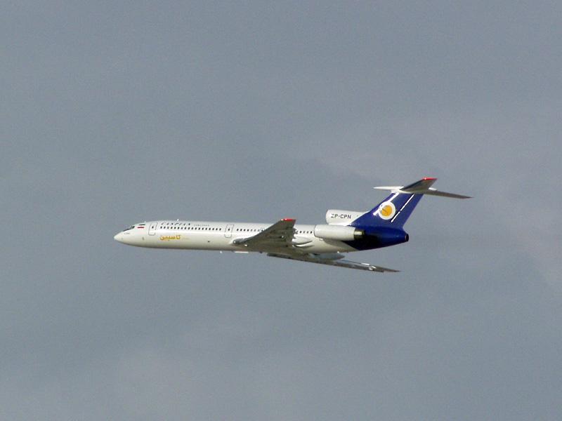 カスピアン航空のTu-154Mが墜落 ...